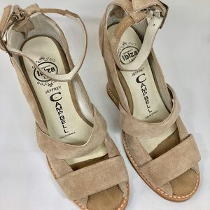 Jeffery Campbell size 6.5 wedge sandals
